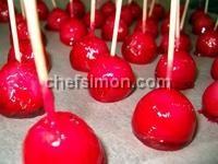 Minis pommes d'amour - Recette pommes d'amour