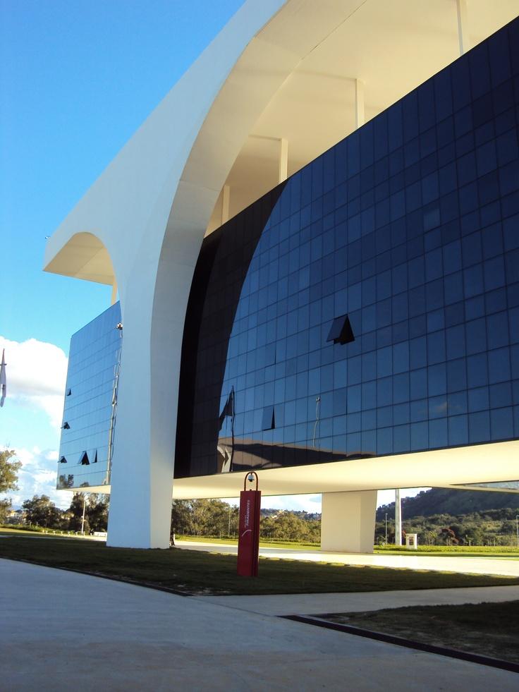 Cidade Administrativa de Minas Gerais - Oscar Niemeyer - Brazil