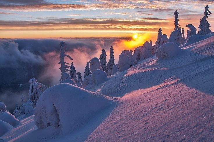 Sunrise from Lysa Mountain by Adam Mojzisek on 500px