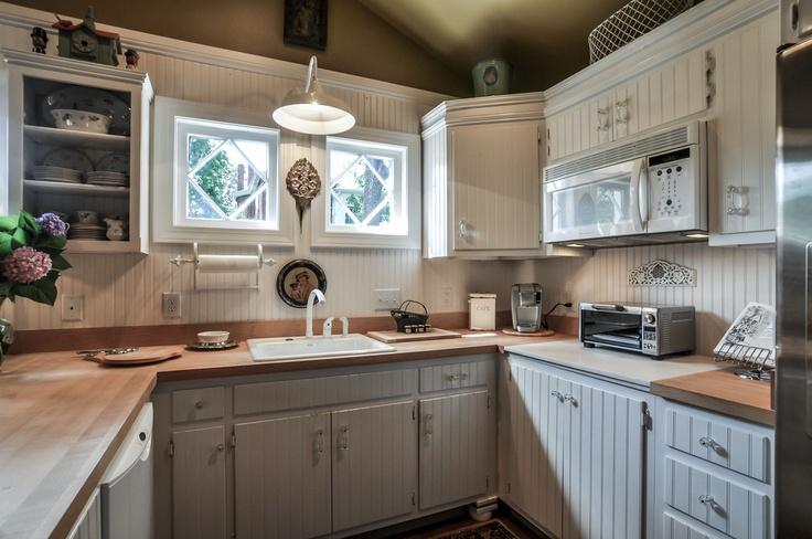 Beadboard cabinets | Beautiful kitchen cabinets, Cottage ...