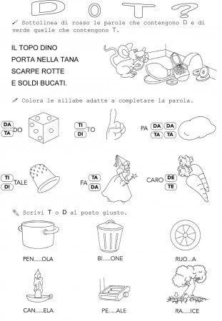 USO DI D O T CLASSE PRIMA
