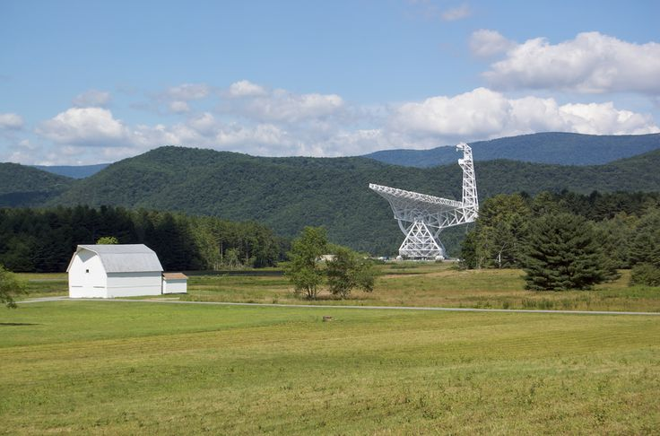 The Green Bank Telescope in West Virginia will point its large dish toward Tabby's Star