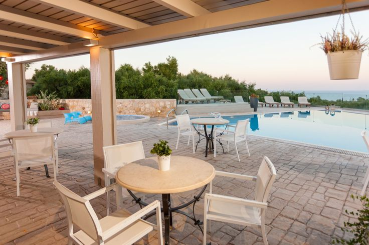 Breakfast is served by the pool too! #PaliokalivaVillage #Zante