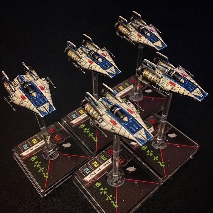 Star Wars Xwing Paint Jobs