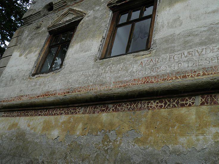 Lázár kastély - falrészlet