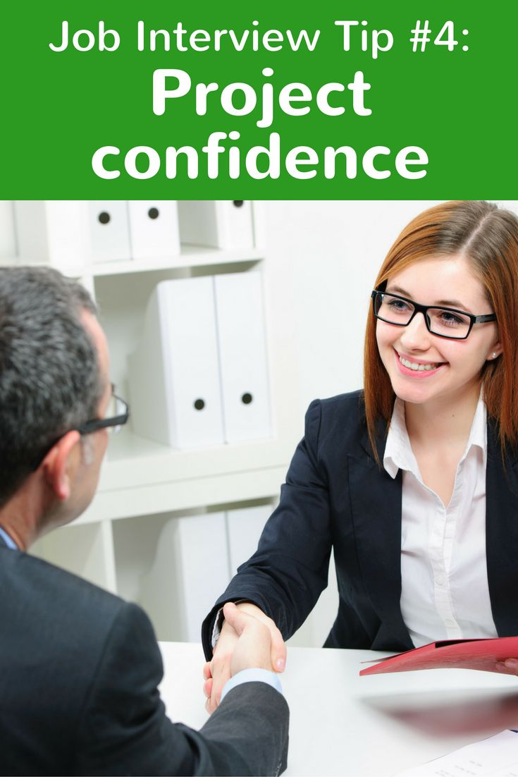tips for your first job interview
