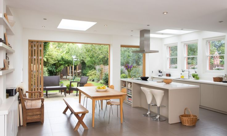 Kitchen extension planning & design advice. Build your perfect kitchen or kitchen extension with help from our expert architects. Contact 0800 849 8505.