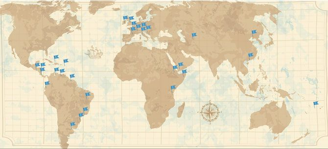 Corto Maltese - Mappa Avventure #cortmaltese #roadmap