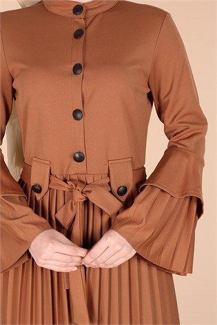Şık ve kullanışlı tesettür bayan elbise modelleri Kirazgiyim.com da kredi kartına 9 taksit ve kapıda ödeme imkanı ile.