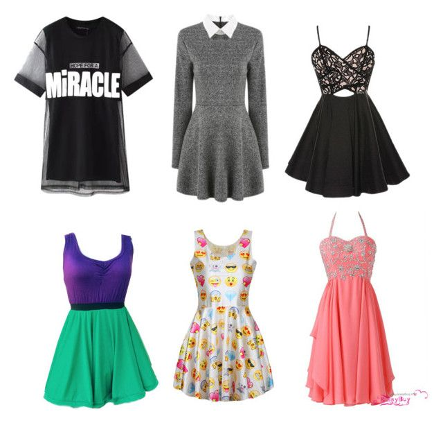 """""""6 dresses every girl needs"""" by ingrid-saeterdalen on Polyvore featuring Chicnova Fashion"""