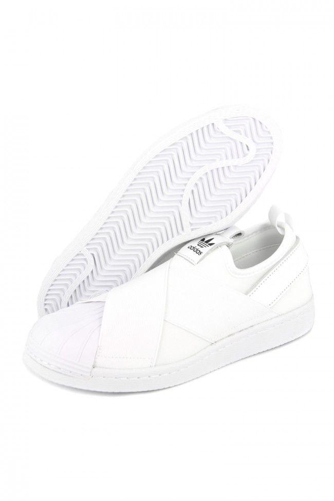 Adidas Originals Women's Superstar Slip On White/black | Culture Kings  Online Store