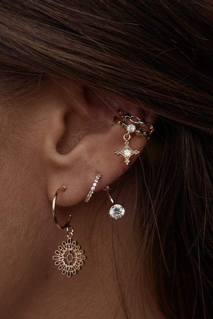 Rue Gembon – Rue Gembon Summer Gold Stud Ear Jacket