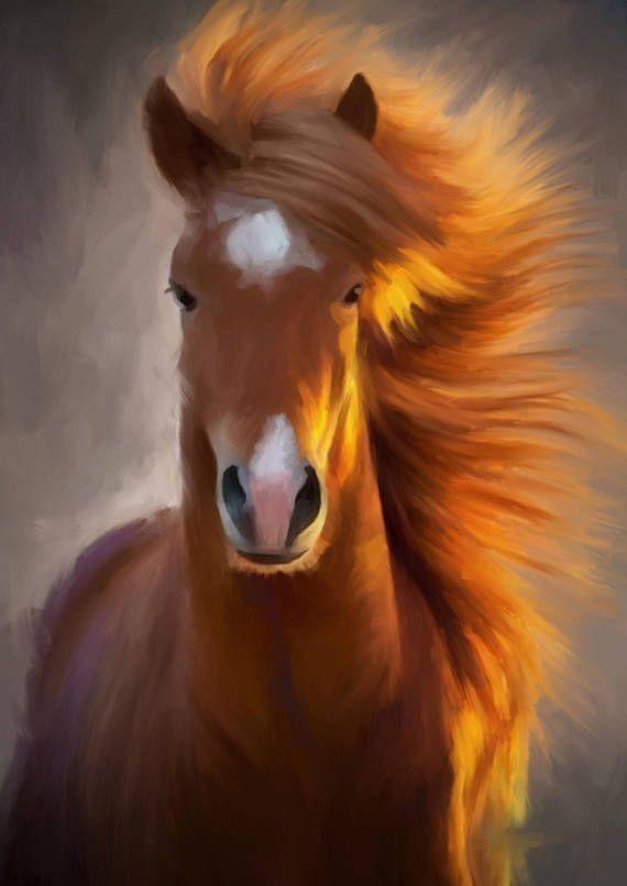 The Icelandic Horse 4 Icelandic horse artwork from Orn d´Design