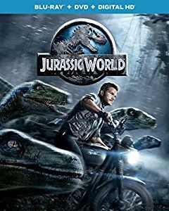 Amazon.com: Jurassic World (Blu-ray + DVD + DIGITAL HD): Chris Pratt, Bryce Dallas Howard, Vincent D'Onofrio, Ty Simpkins, Nick Robinson, Omar Sy, BD Wong, Irrfan Khan, Colin Trevorrow, Frank Marshall, Patrick Crowley, Rick Jaffa, Amanda Silver, Derek Connolly: Movies & TV