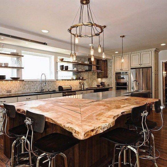 18 Unique Kitchen Island Ideas For Your Home Lmolnar Kitchen Island Tops Kitchen Island Countertop Kitchen Design