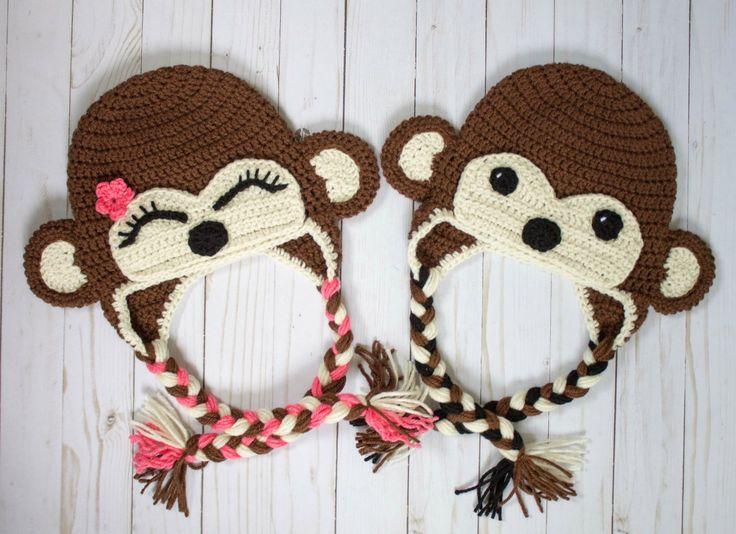 Mejores 45 imágenes de Crochet hat patterns en Pinterest | Ganchillo ...