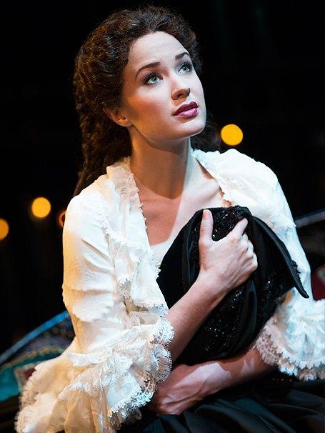 Sierra Boggess as Christine Daae in The Phantom of the Opera 25th anniversary - Google Search
