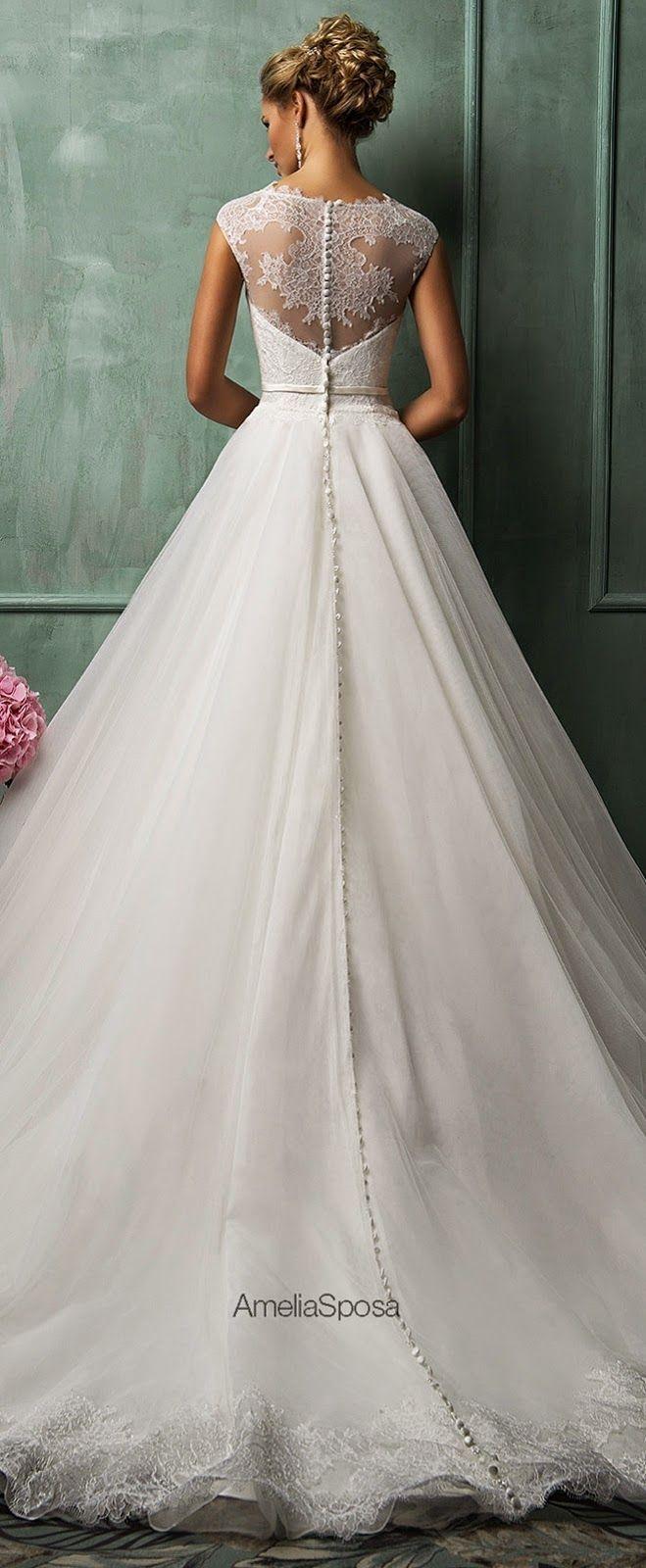 Robe très chic pour une marier