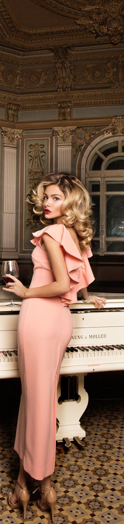 Yulia Prokhorova MBFW Russia women fashion outfit clothing style apparel @roressclothes closet ideas