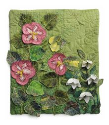 How to Make Flower Quilt Designs That Pop - Vivika's Blog - Quilting Daily