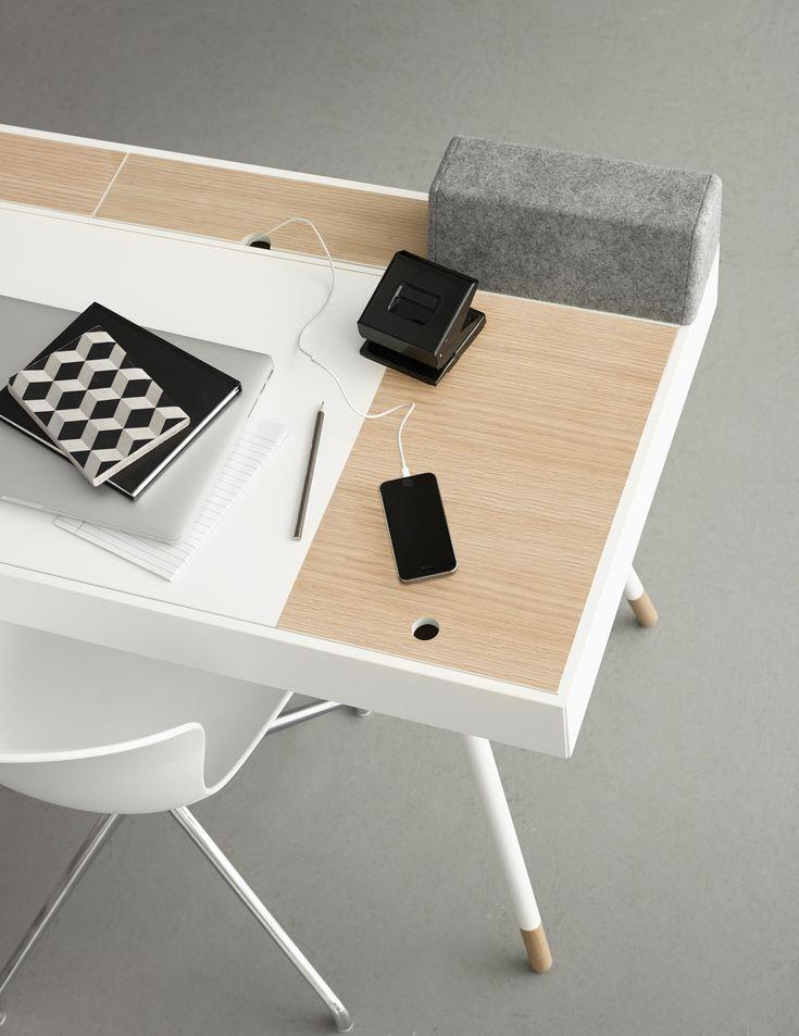 Home Office: Cupertino Schreibtisch. #boconcept #scandinaviandesign  #interiordesign #homedecor