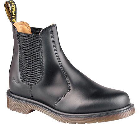 Dr. Martens 2976 Chelsea Boot Originals - Black Smooth - FREE Shipping & Returns | Shoebuy.com