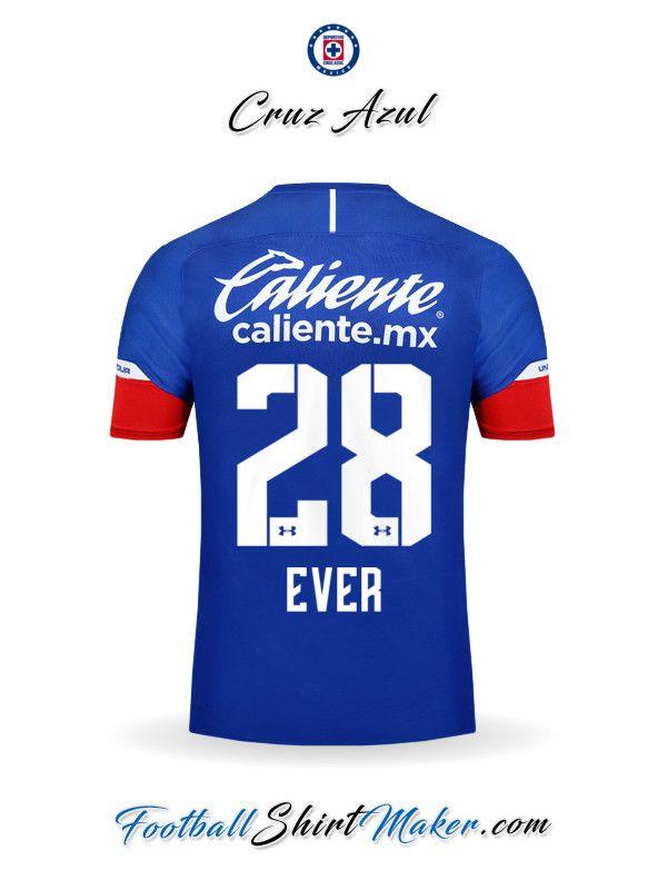4bce5511851e2 Camiseta Cruz Azul 2018 19 Ever 28