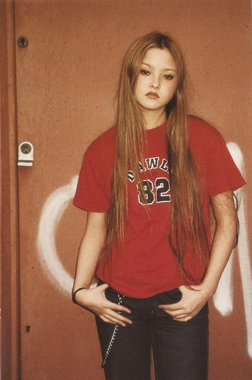 From Juergen Teller: Go Sees 29th March 1999 - Devon Aoki