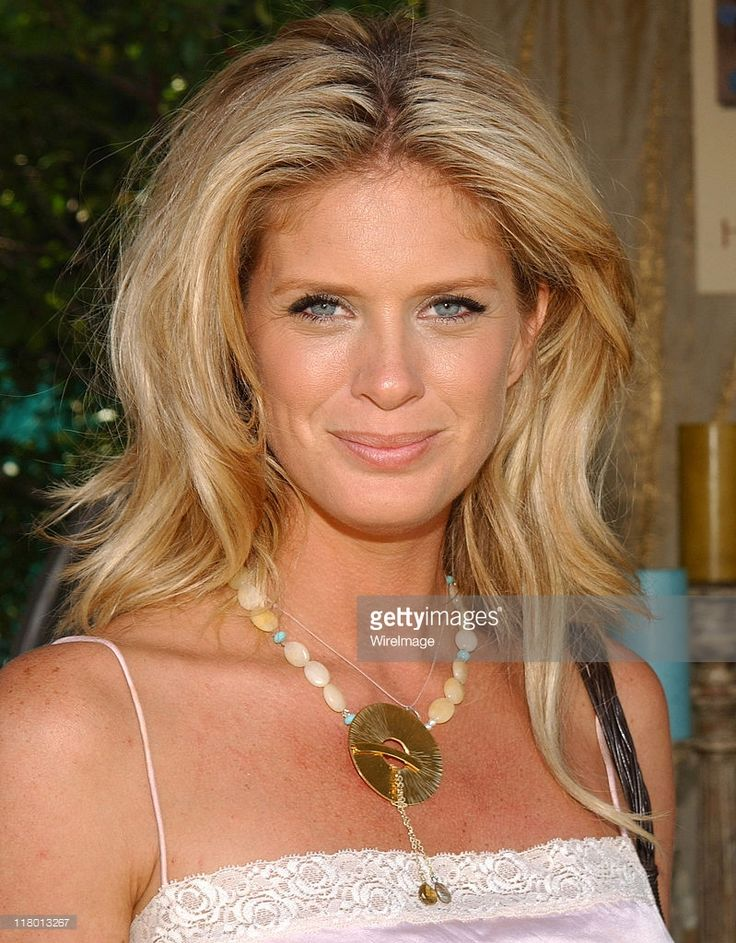 Rachel Hunter at Holly Lauren during Silver Spoon Hollywood Buffet - Day 2 in Los Angeles, California, United States. (Photo by Jean-Paul Aussenard/WireImage for Silver Spoon (formerly The Cabana))