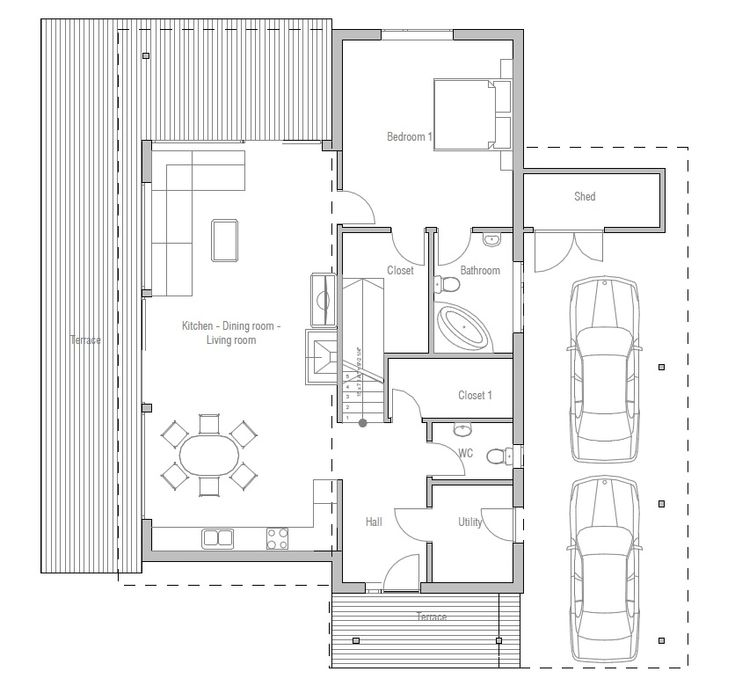 146 best images about maisons bois on pinterest for Weekend cabin plans