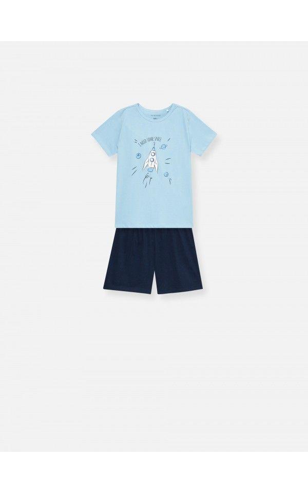 Pizama Dwuczesciowa Z Nadrukiem Zobacz Wszystko Niebieski Sinsay Pyjamas Clothes Print Pajamas