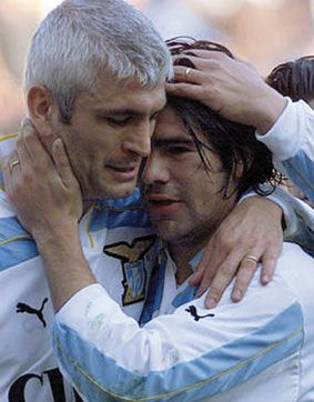 Fabrizio Ravanelli, SS Lazio (2000–2001, 27 apps, 4 goals) and Marcelo Salas, SS Lazio