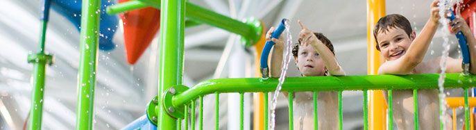 Sydney's Best Indoor Water Park | Splasher's Water Playground | Water Slide | Rapid River Ride