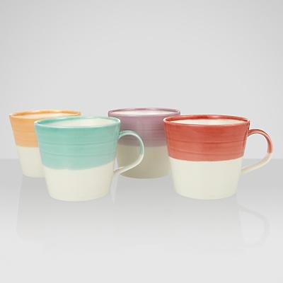 Buy Royal Doulton 1815 Tapas Mugs, Assorted Brights, Set of 4 online at JohnLewis.com - John Lewis