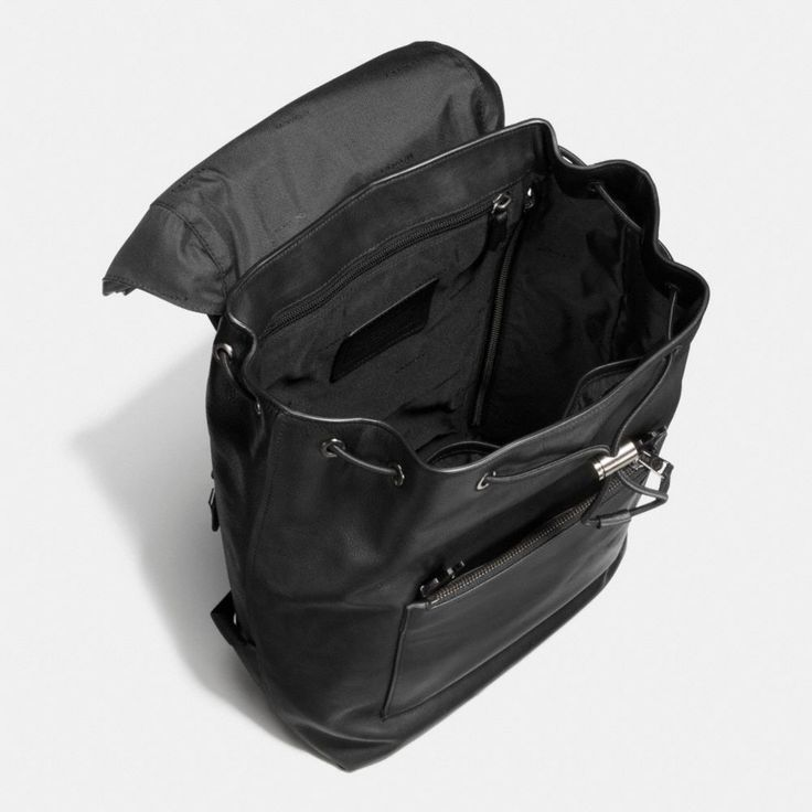 Coach Singapore Official page | MANHATTAN BACKPACK IN LEATHER