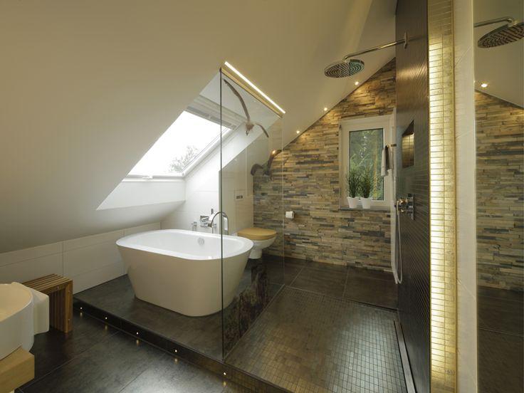 Badezimmer Ideen Dachschräge, Haus Badezimmer, Dachschräge Und, Und Das,  Dachfenster Sorgt,