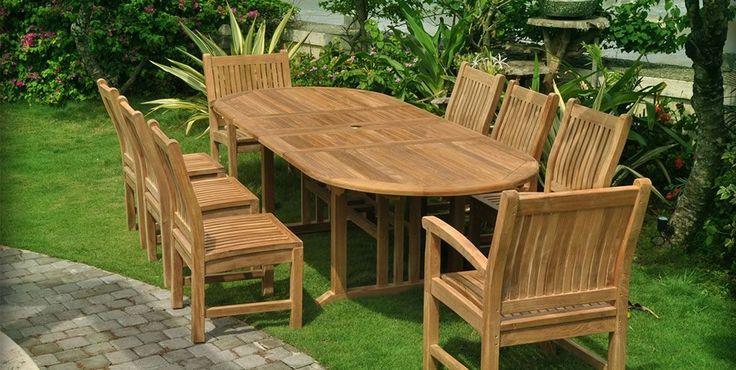 Outdoor Teak Garden Furniture Check more at http://www.wearefound.com/outdoor-teak-garden-furniture/