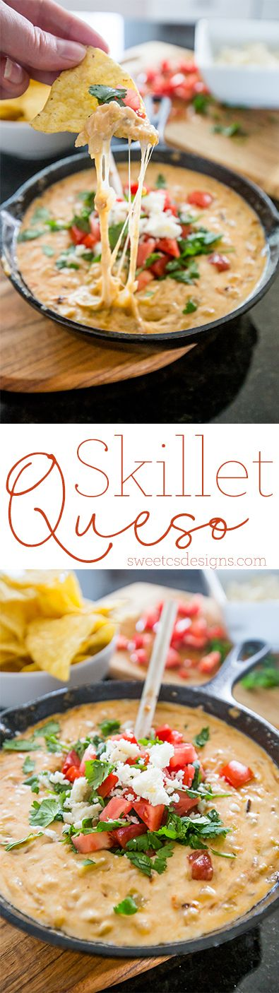 This is the most delicious queso ever! - with a skillet and some ingredients from #worldmarket ! #worldmarkettribe                                                                                                                                                      More