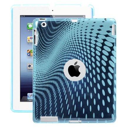 Electron Wave (Lys Blå) iPad 3 / iPad 4 Cover