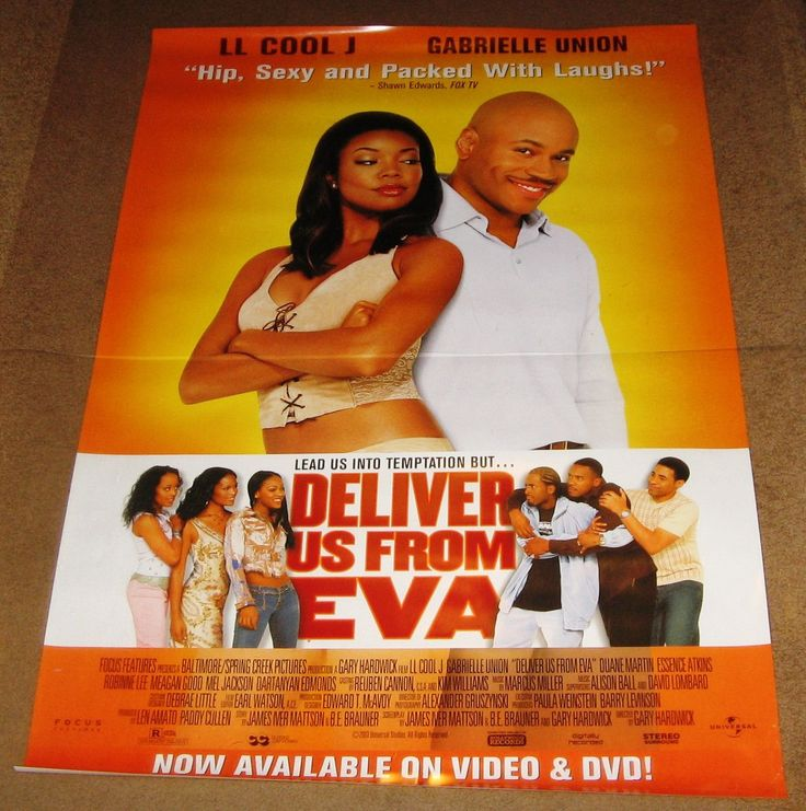 Deliver Us From Eva Movie Poster 27x40 Used LL Cool J