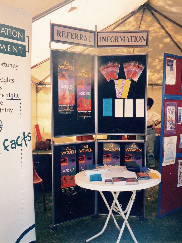 WIS Stall Riverland Field Day September 1999