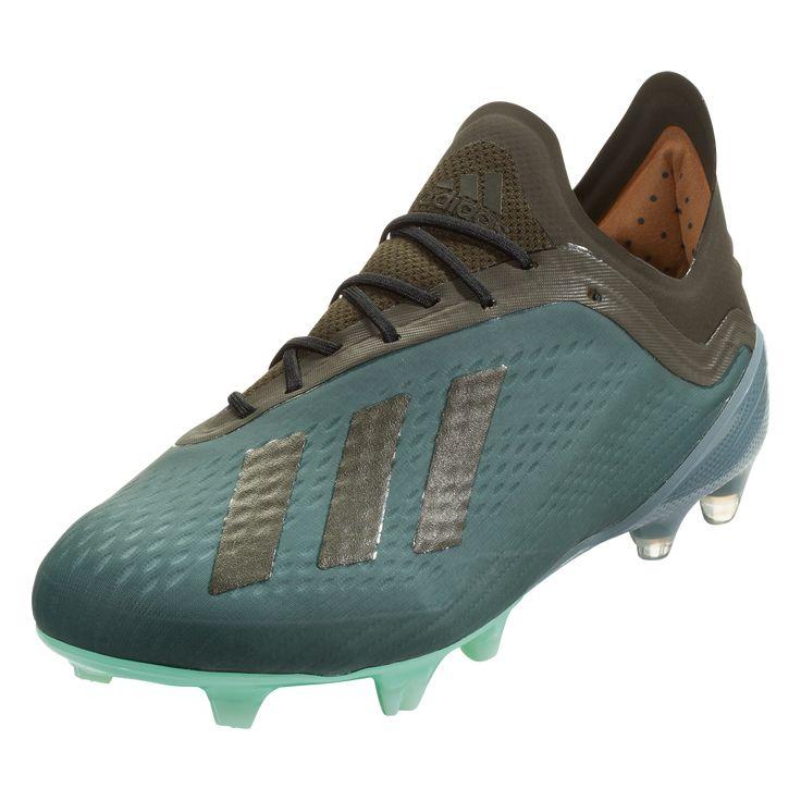 97a160088 adidas X 18.1 FG Soccer Cleats Raw Green Night Cargo Clear Mint-10.5 ...