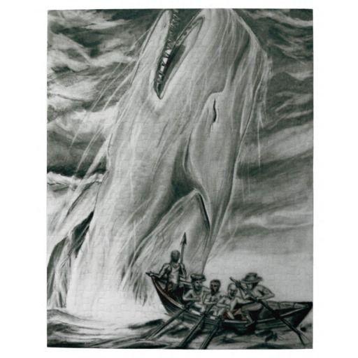 Puzzle caça da baleia quebra-cabeças