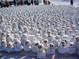 snow people.....lol