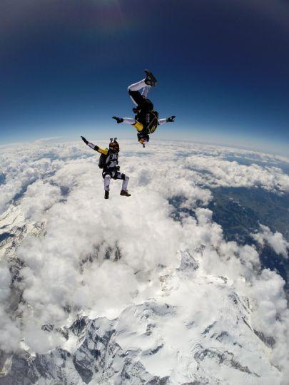 Soul Flyers : ils sautent à 10 000 mètres au-dessus du Mont-Blanc – metronews