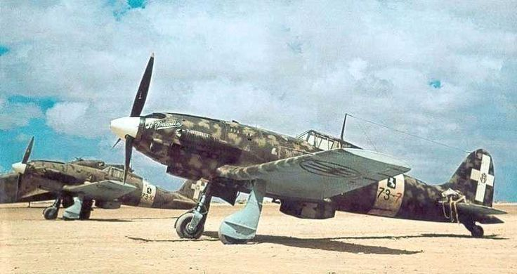 The Macchi C.202 Folgore was a World War II fighter aircraft built by Macchi…