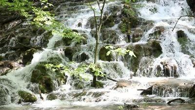 Romanian waterfall