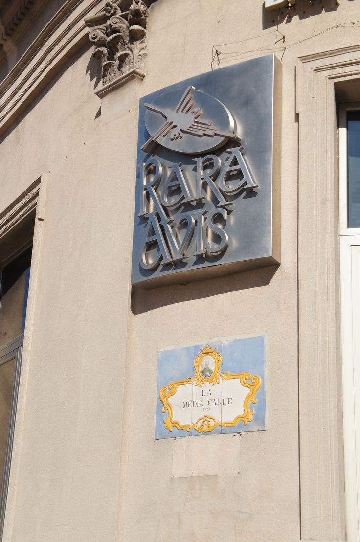 Letreiro restaurante Teatro Solis, Montevideo