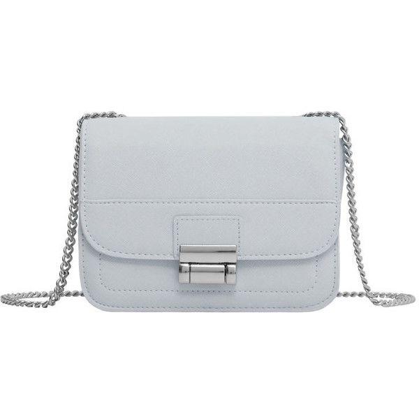 Cross-Body Small Bag (€9,54) ❤ liked on Polyvore featuring bags, handbags, shoulder bags, faux-leather handbags, metallic crossbody, metallic purse, mango handbags and imitation handbags