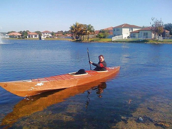 20' Sea Kayak Two - S&G touring kayak for two-boatdesign